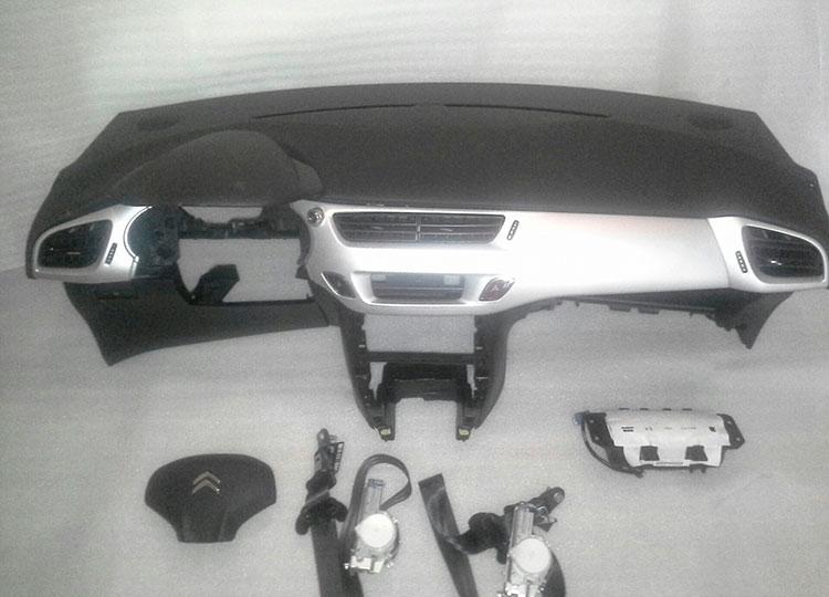 juego airbags citroen c3 con salpicadero